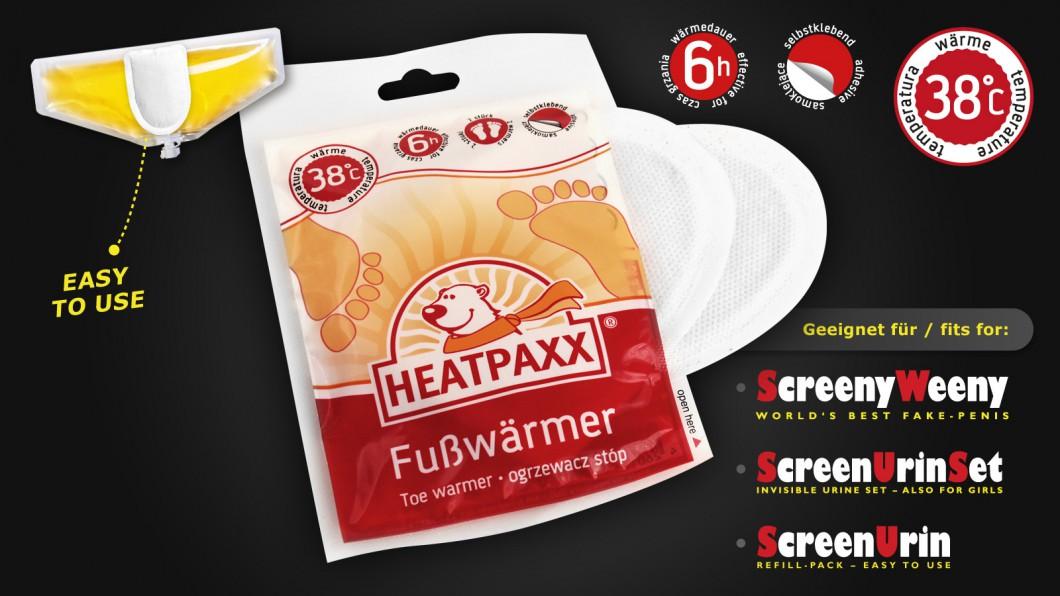 Heatpaxx - Wärmekissen zum Erwärmen & Warmhalten von CleanUrin