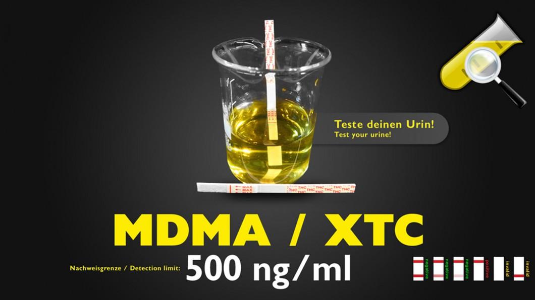 MDMA/XTC Drogentest - Selbsttest (Urin)