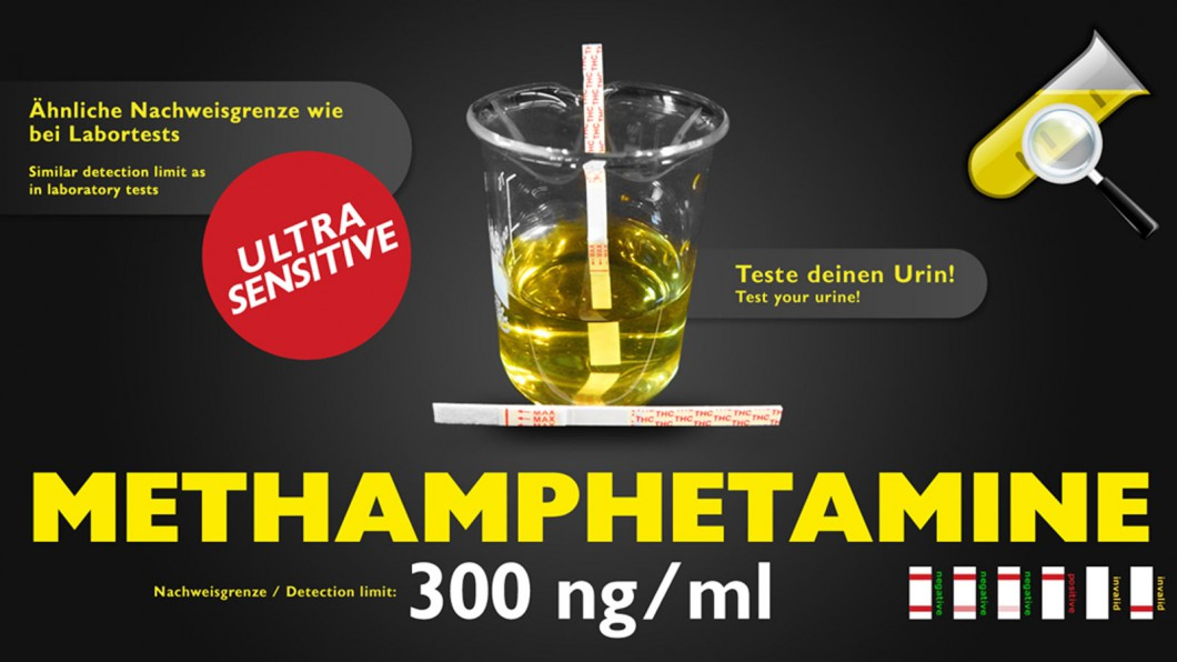 Methamphetamin Drogentest - Selbsttest (Urin)
