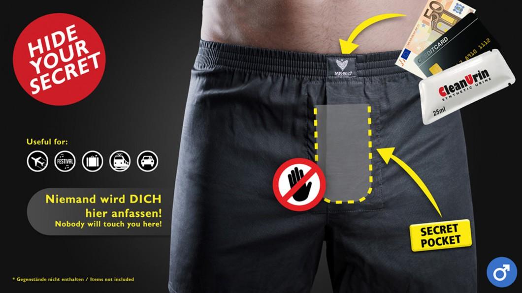 Spezialunterwäsche für Männer - Boxer Shorts - 100% Baumwolle