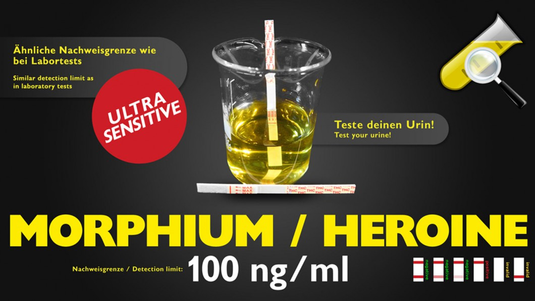 Morphine Drogentest - Selbsttest (Urin)